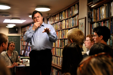 Peter Miller, Ken Spelman Rare Books, gives English students an insight into the sector